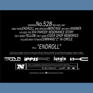 No.528 アルバム「ENDROLL」絶賛配信中!